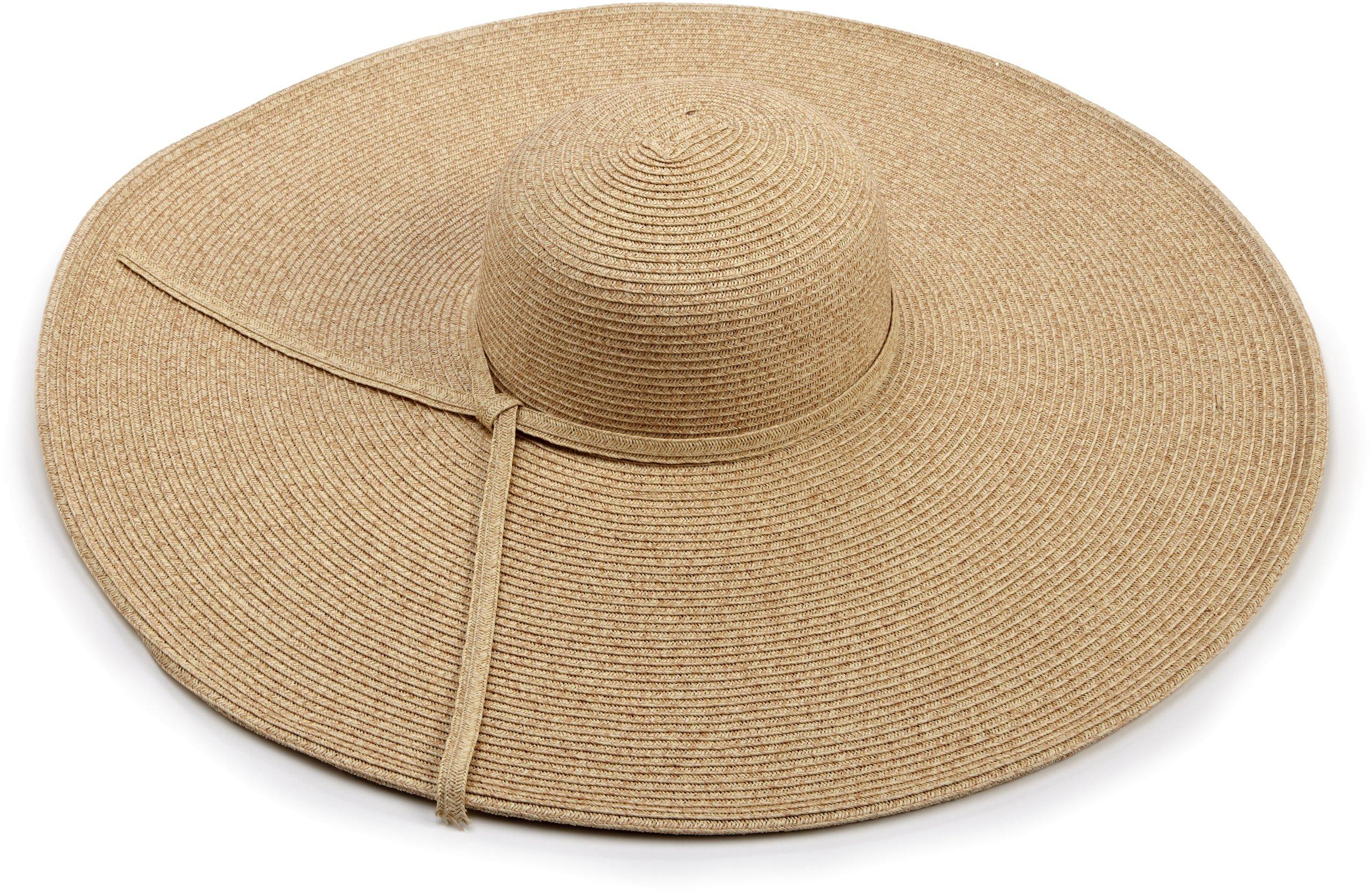 San Diego Hat Company Women's Ultrabraid X Large Brim Hat,Toast,One Size by San Diego Hat Company (Image #2)