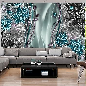 Murando   Fototapete Blumen Abstrakt 350x256 Cm   Vlies Tapete   Moderne  Wanddeko   Design Tapete