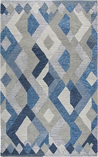 Rizzy Home Idyllic Collection Wool Area Rug
