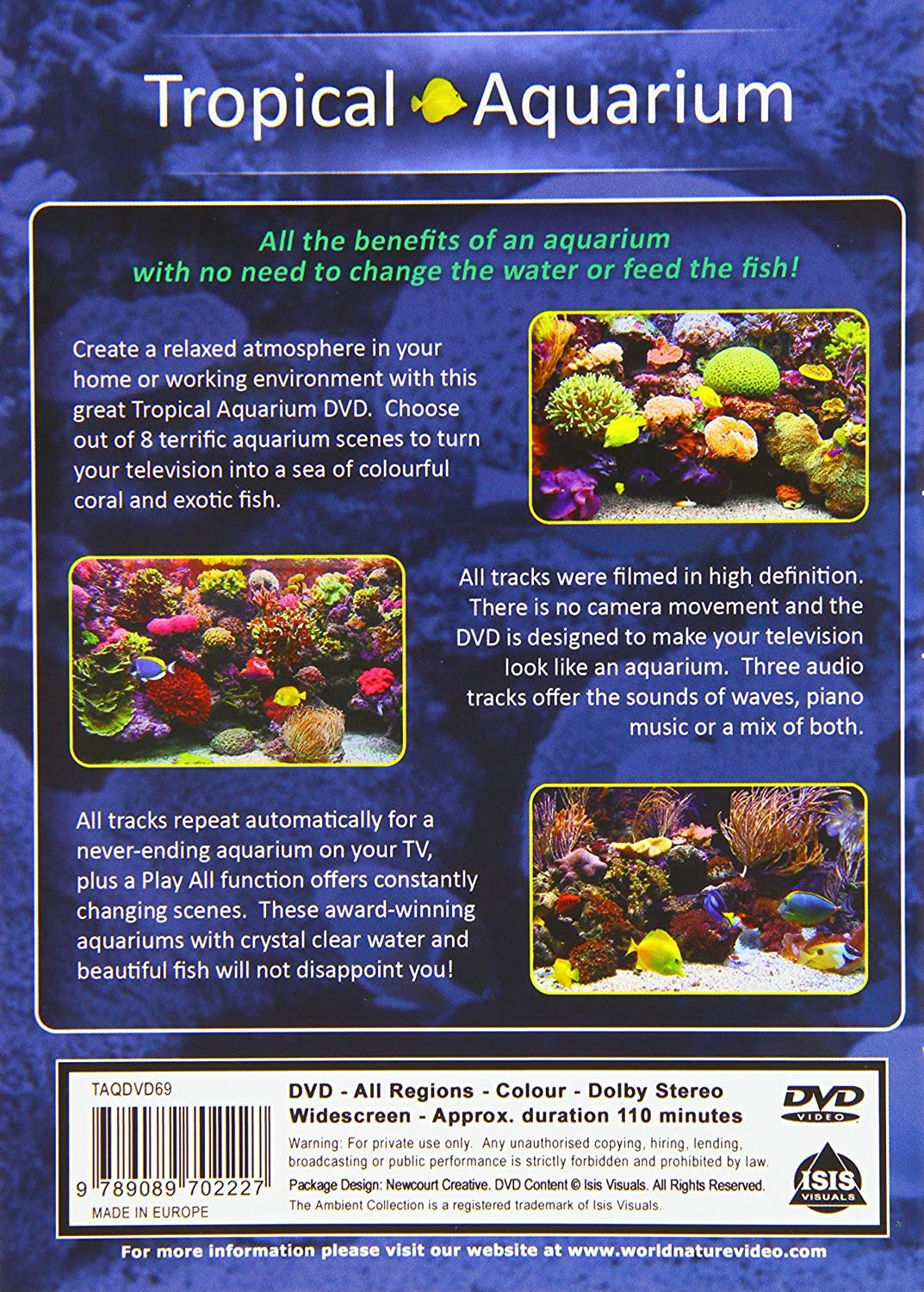 Picking fish for your aquarium - Aquarium Dvd Tropical Aquarium 2 Hours Of Award Wining Fish Tanks Amazon Co Uk The Ambient Collection Tropical Fishes And Marine Sea Life And Coral