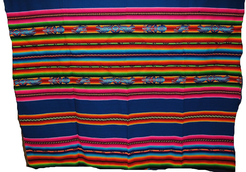 Feria de Aguayo Bolivia Manta / Lanzar 1.3mx 1.3m: Amazon.es: Ropa y accesorios