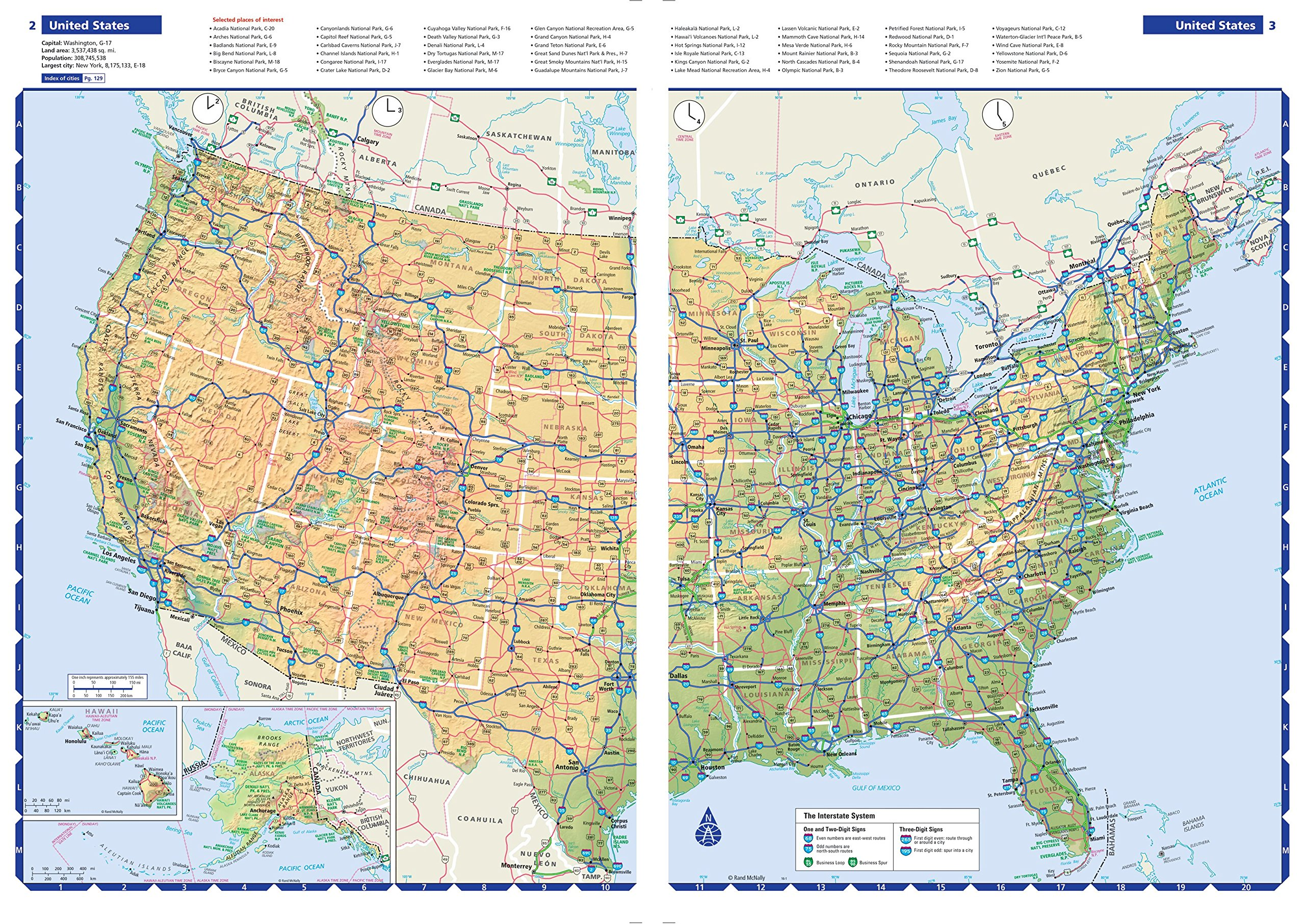 Rand McNally Road Atlas Rand McNally Road Atlas Rand - Usa road atlas