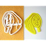 Custom Portrait Cookie Cutter, Personalized with Your Face, Perfect for Birthday, Retirement