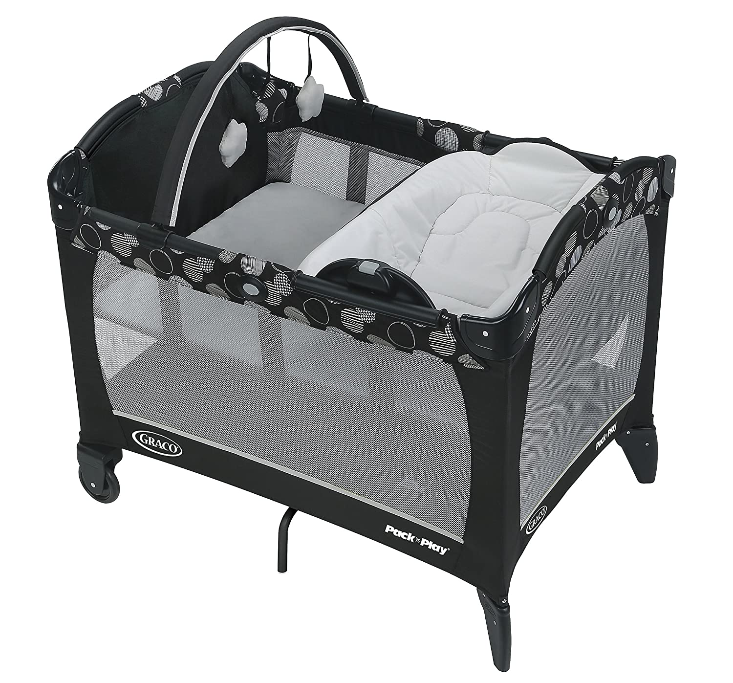 Graco Pack 'N Play with Reversible Lounger & Changer, Milan 2013675