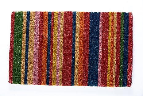 COCOMATSNMORE Magic L.E.D Doormat Contemporary Stripe   18u0026quot; ...