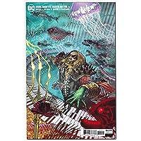 Dark Nights Death Metal #5 Mahnke 1:25 Aquaman Variant (DC, 2020) NM