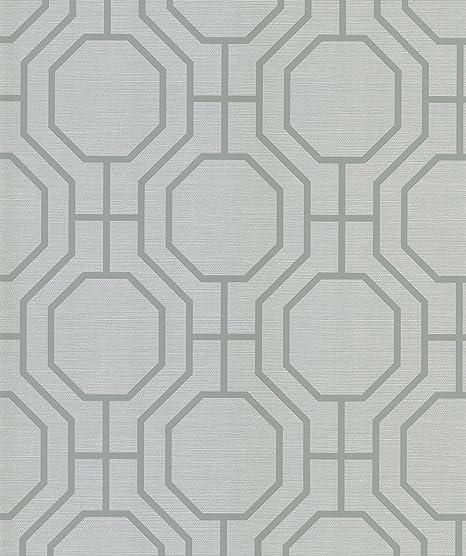 Beacon House 283-60508 Ink Stripes Beige Varied Stripe Wallpaper