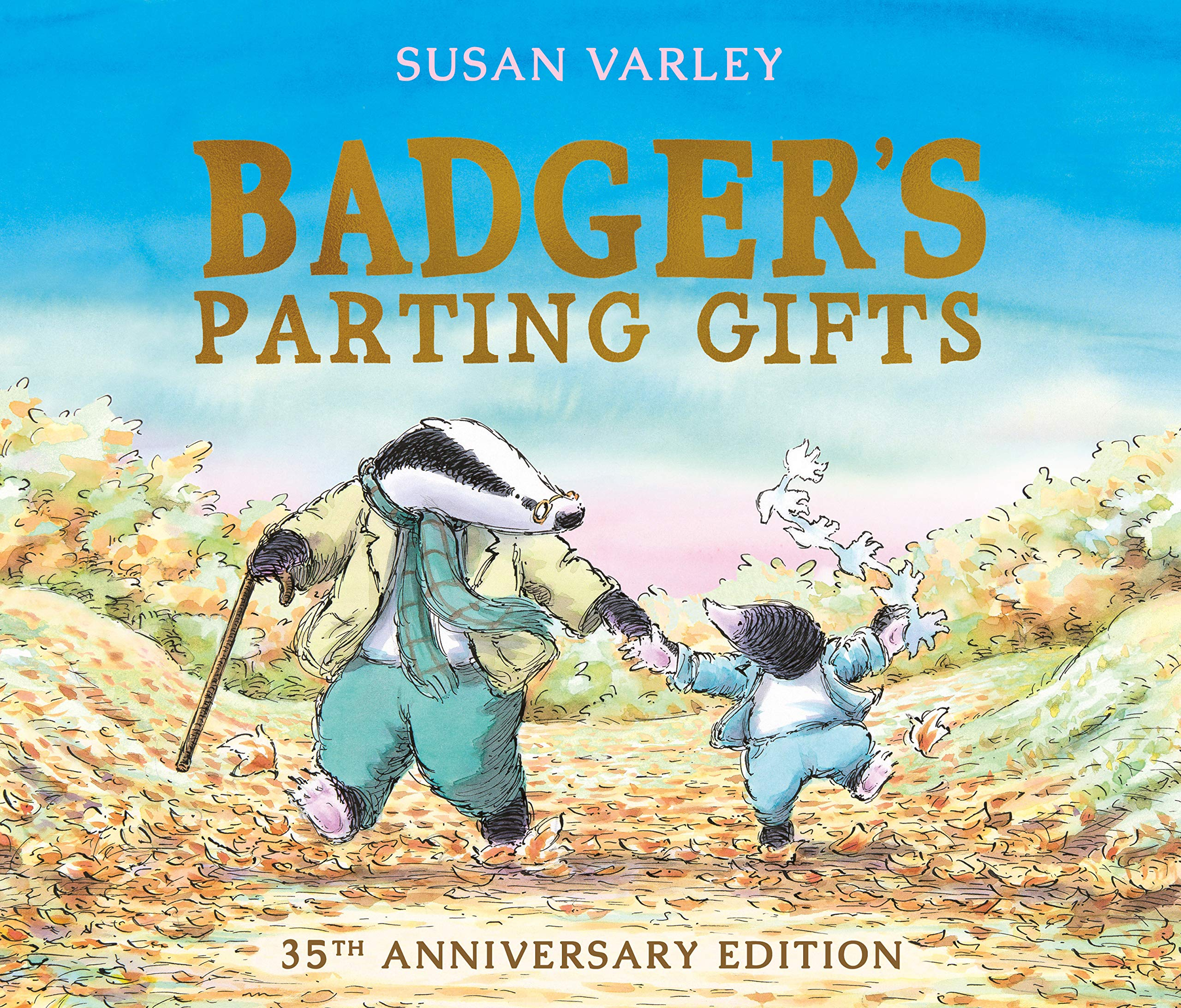 Badgers parting gifts amazon susan varley 9781849395144 books fandeluxe Images
