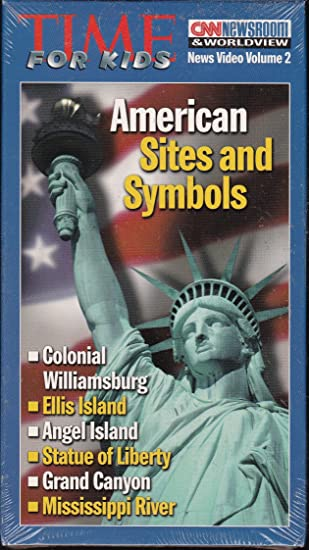 Amazon Time For Kids American Sites And Symbols Vhs Toys