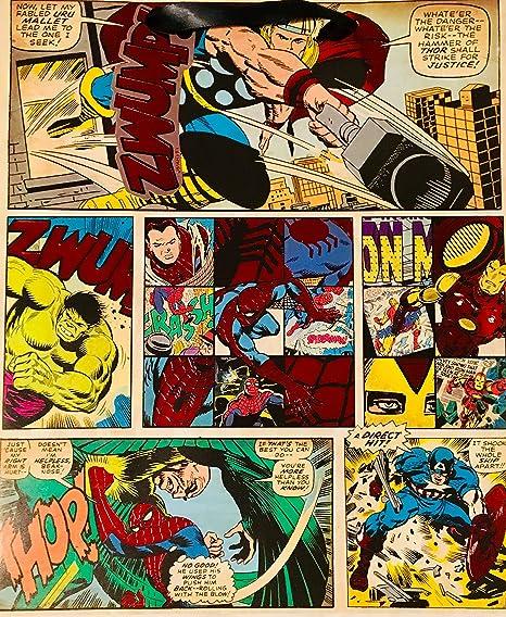 Comics - Bolsa de regalo grande vintage: Amazon.es: Oficina ...