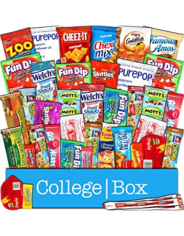 9b08e57ec69 CollegeBox Snacks 40 Count Ultimate Care Package Variety Box Gift Pack  Assortment Basket Bundle Mixed Bulk