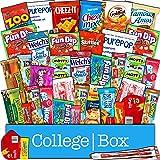 CollegeBox Snack pacchetto di una varietà di cibi fritti, biscotti e caramelle (confezione da 30)