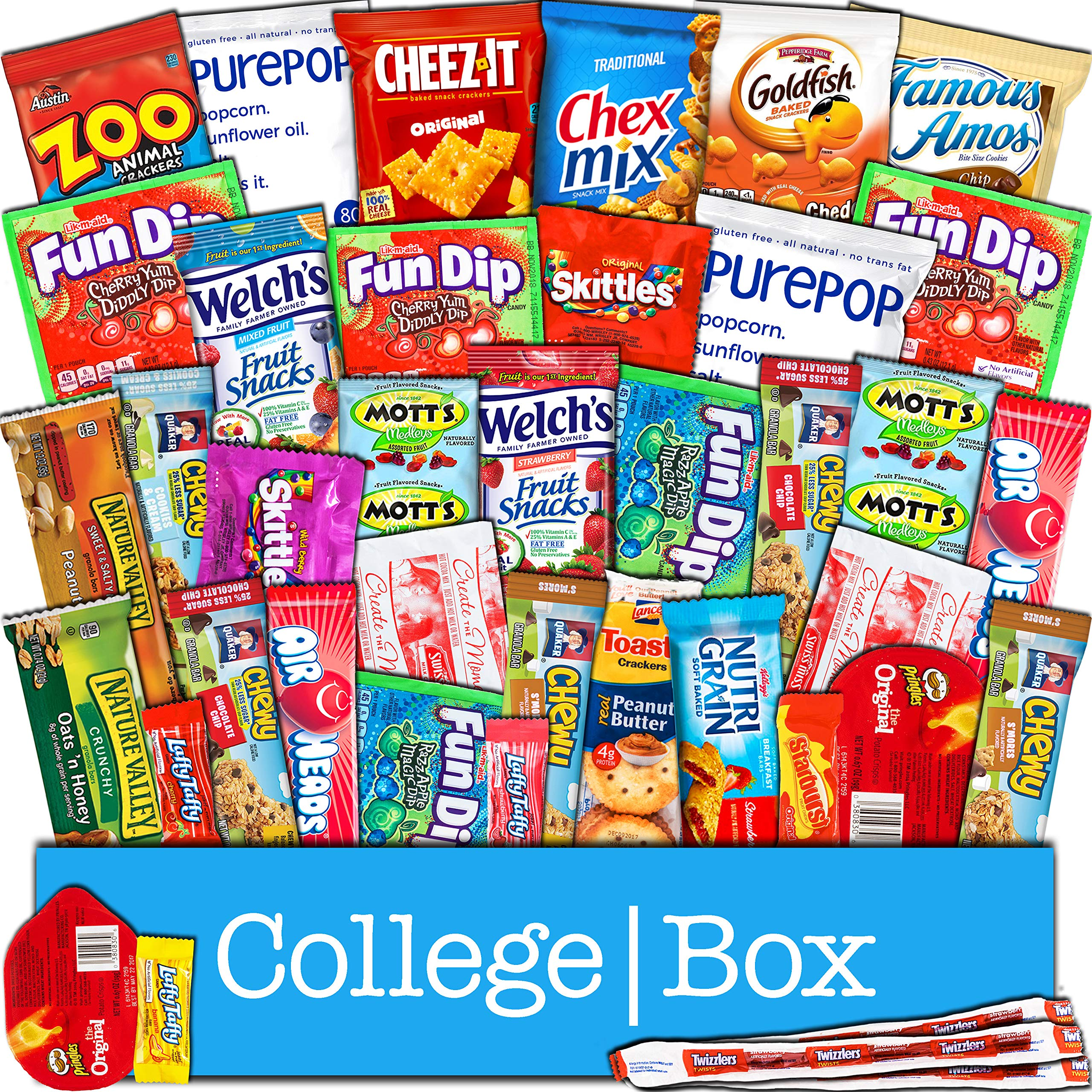 Amazoncom Student Care Package Food Basket College Care