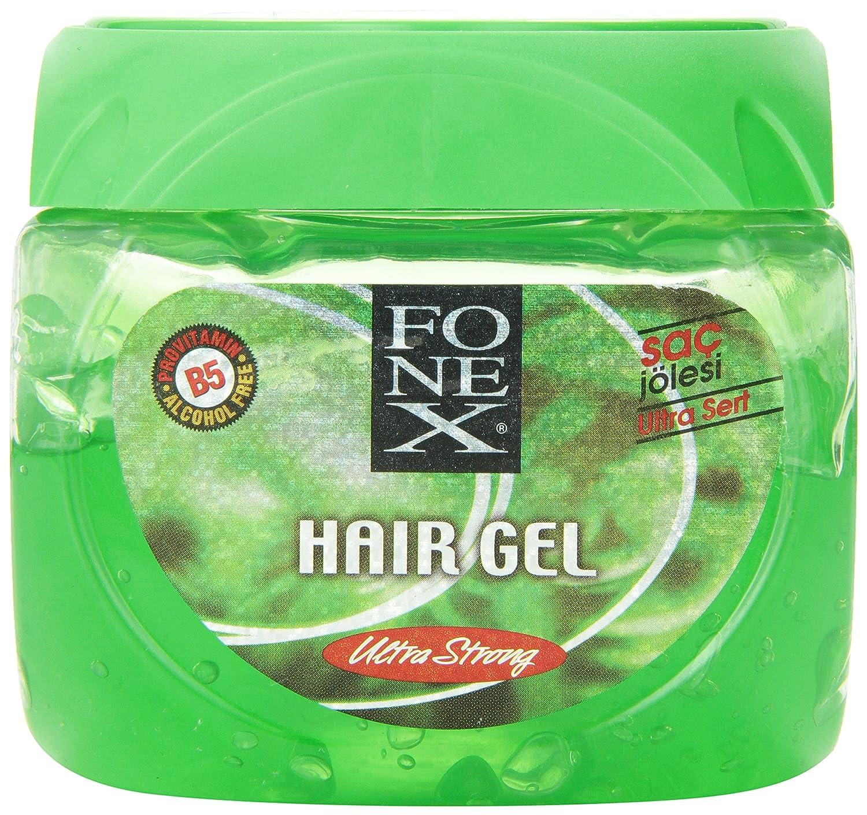 Amazoncom  Fonex Hair Gel Ultra Strong  Ounce  Hair Styling - Hair gel