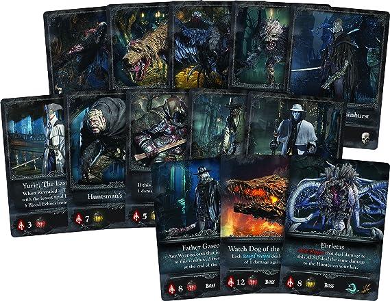 Bloodborne, El Juego de Cartas por CoolMiniOrNot: Amazon.es: Juguetes y juegos