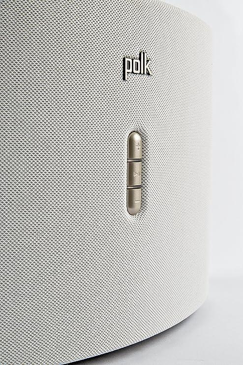 Polk Audio Omni S6 Wireless Lautsprecher Dts Play Fi Multiroom Technologie Weiß Audio Hifi