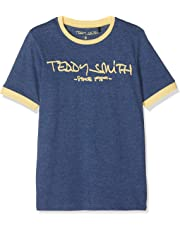 302c1d9d0754b Teddy Smith Ticlass3 - T-shirt - Imprimé - Col rond - Manches courtes -