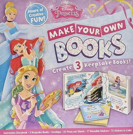 amazon com disney princess make your own books toys games