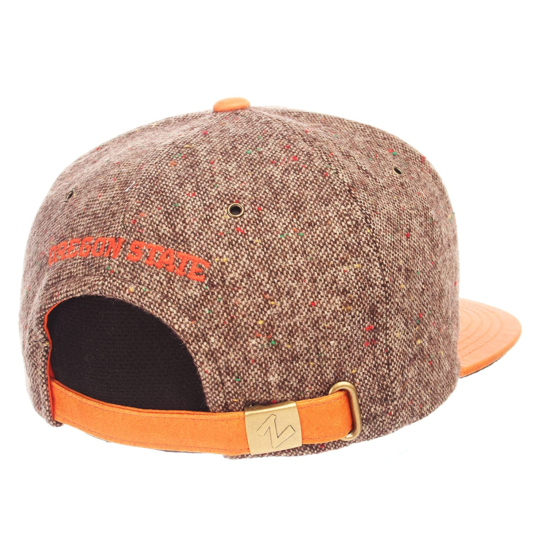 Tweed Adjustable NCAA Zephyr Oregon State Beavers Mens Legend Heritage Collection Hat
