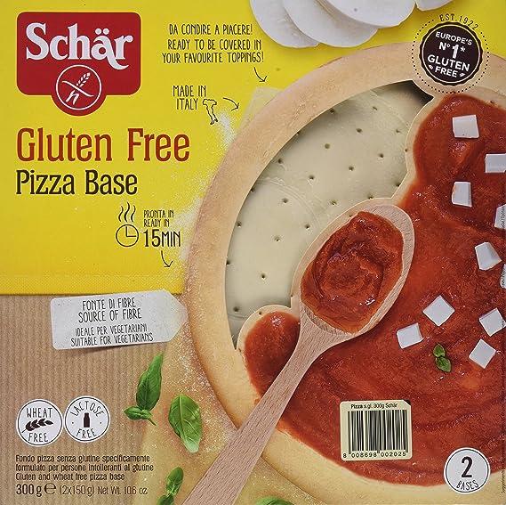 Dr. Schar Base Pizza - Paquete de 8 x 300 gr - Total: 2400 ...