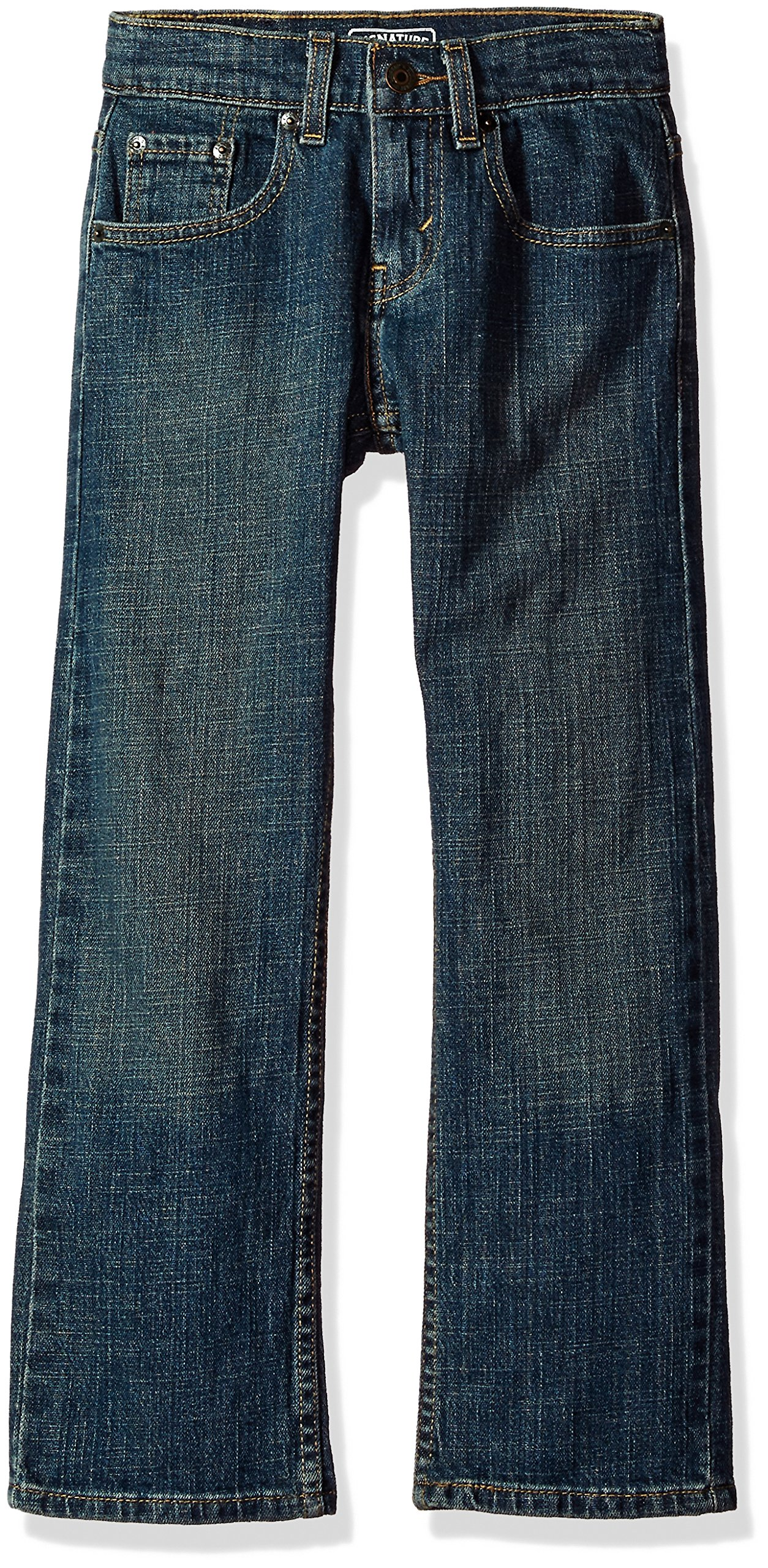 Signature by Levi Strauss & Co. Gold Label Big Boys' Slim Straight Fit Jeans, Prodigy, 16