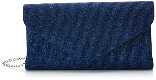 Swankyswans - Carmen Glitter Sparkle, Carteras de mano Mujer, Azul (Navy),