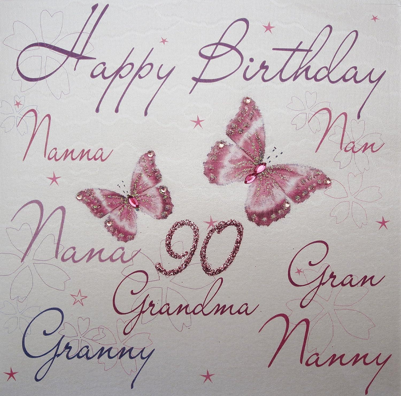 Nan Nanna Grandma Birthday Cards In 11 Designs