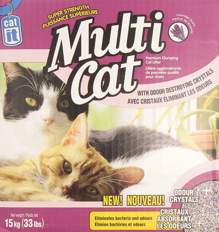 Amazon.com : Catit Multi-Cat Litter, 33-Pound : Pet Litter : Pet Supplies