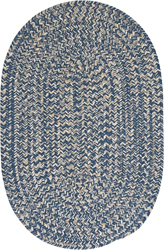 Tremont Area Rug, 12 by 15-Feet, Denim