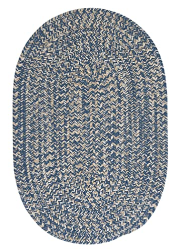 Tremont Area Rug, 3 by 5-Feet, Denim