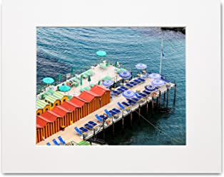Matted Photo Print – Bay of Naples – Sorrento, Italy. – 16x20-11x14-8x10