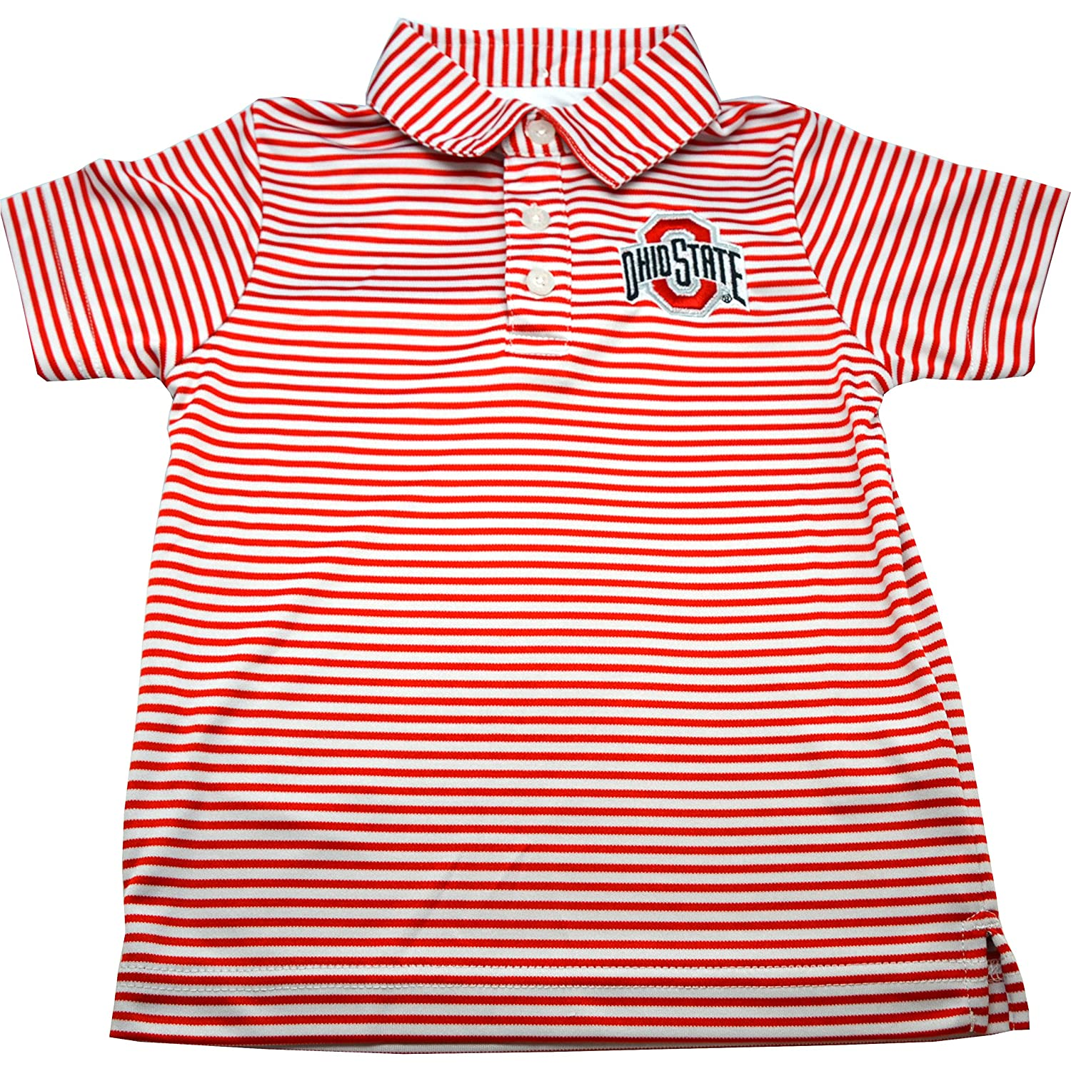 Ohio State Carson Toddler Stripe Polo - 5T 2236