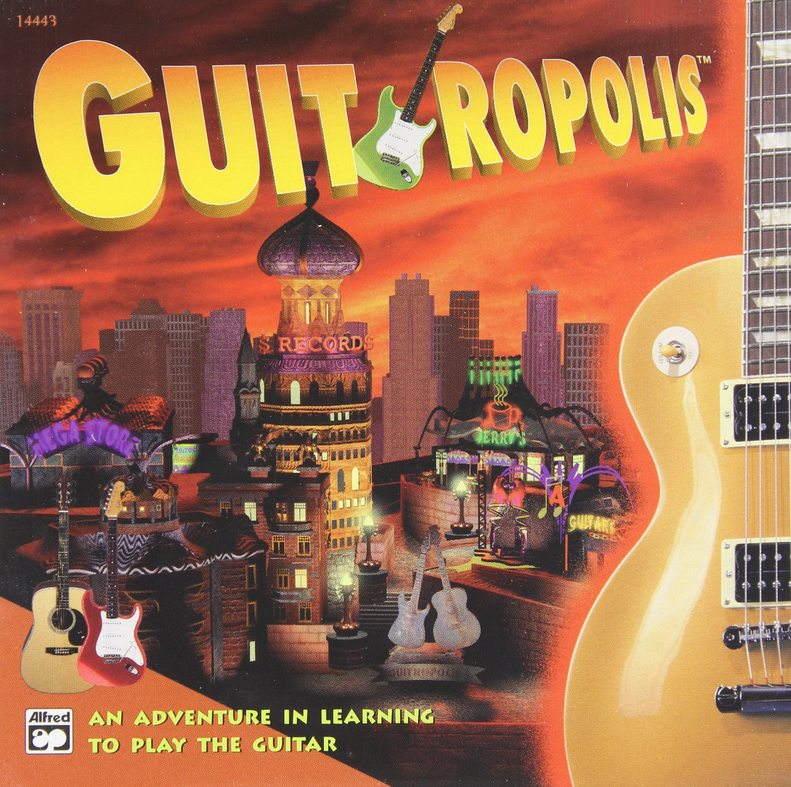 guitropolis an adventure in learning to play the guitar jewel case edition