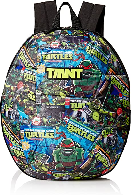 Nickelodeon Boys Tmnt Comic Book Time 3d Shell 16
