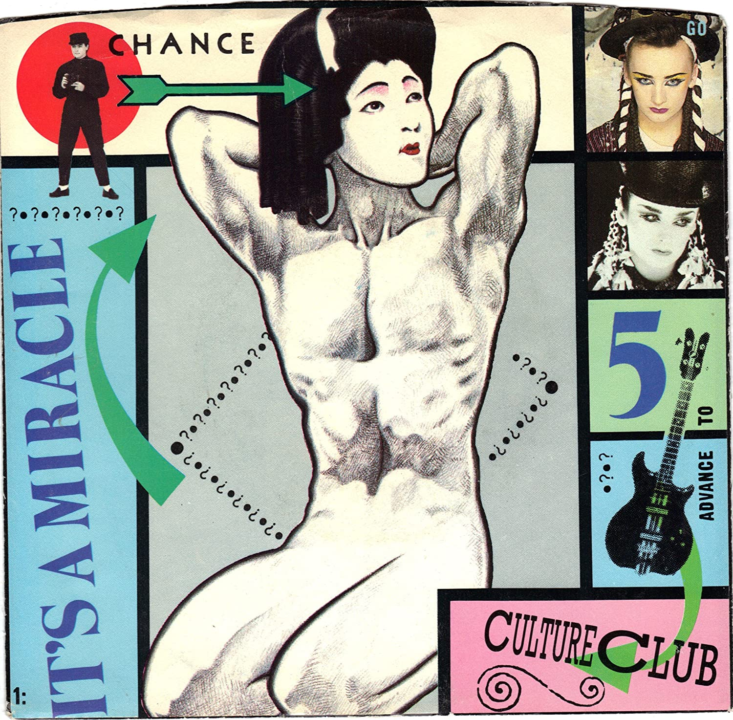 CULTURE CLUB / It's A Miracle / 45rpm record + picture sleeve