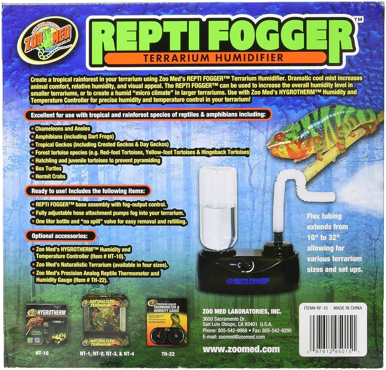 4e7c9ff45 Zoo Med Humidificador y nebulizador térmico para reptiles para terrario:  Amazon.com.mx: Mascotas