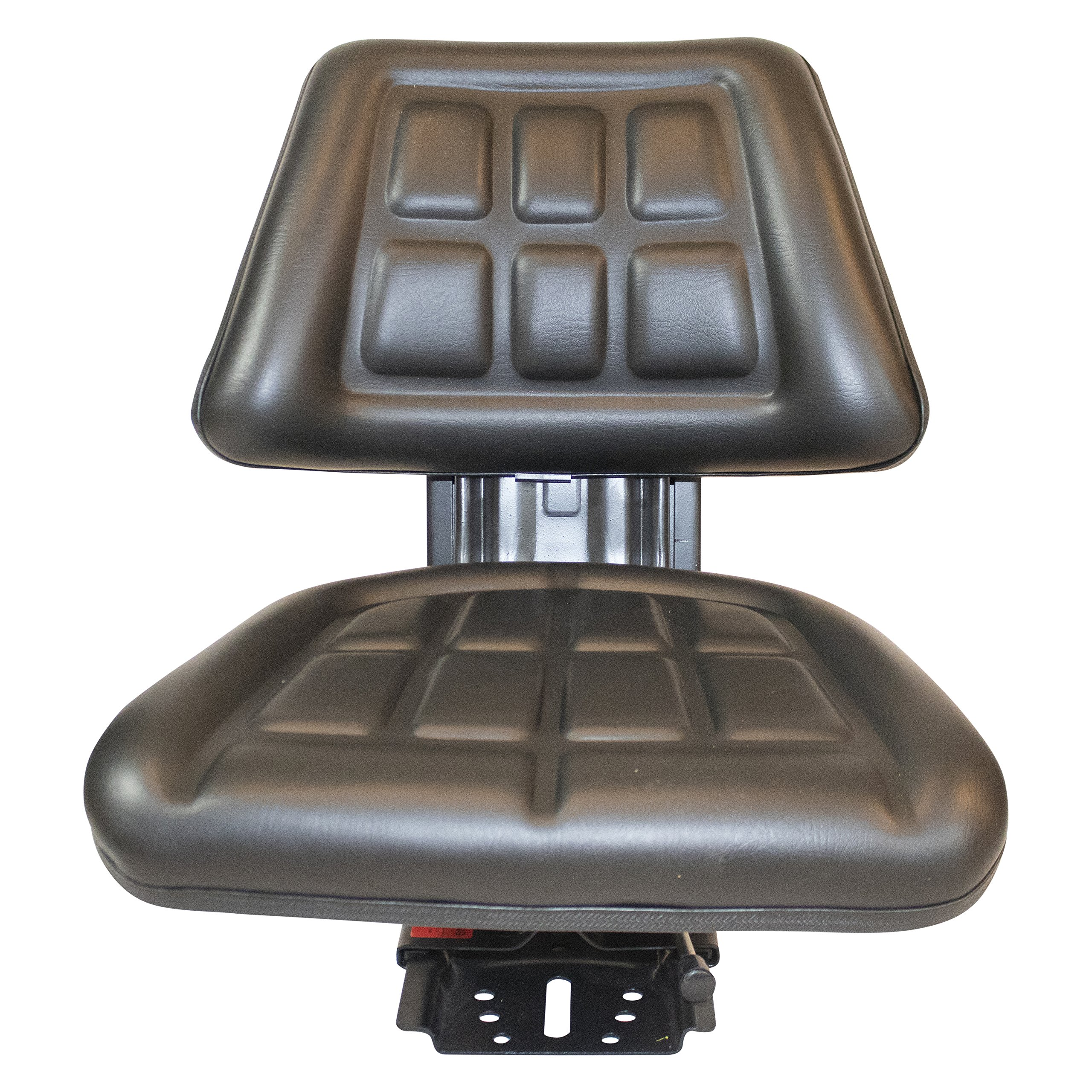 Black TRIBACK Suspension Tractor SEAT FITS Ford/New Holland 2000 2310 2600 2610 2810 2910 TRAC Brand(Same Day Shipping - Delivers in 1-4 Business Days) by TRAC SEATS