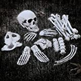 Halloween Haunters 28 Piece Bag of Plastic Life