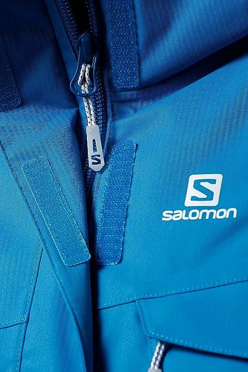 Salomon Damen Skijacke blau L: : Sport & Freizeit
