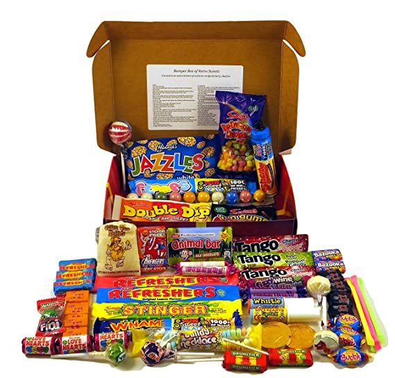 A Quarter Of Already Wrapped Bumper Retro Sweets Selection Box, 730g by A Quarter Of
