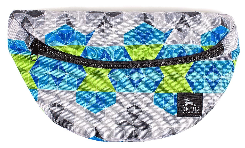Oddities 3000 Geoprismic Hip Bag