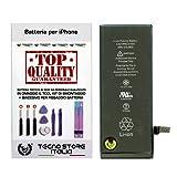 foto                       TSI® Batteria di Ricambio per iPhone 6, Capacità 1810 mAh apn 616-0805, + Tool Kit Smontaggio, Biadesivo e Istruzioni