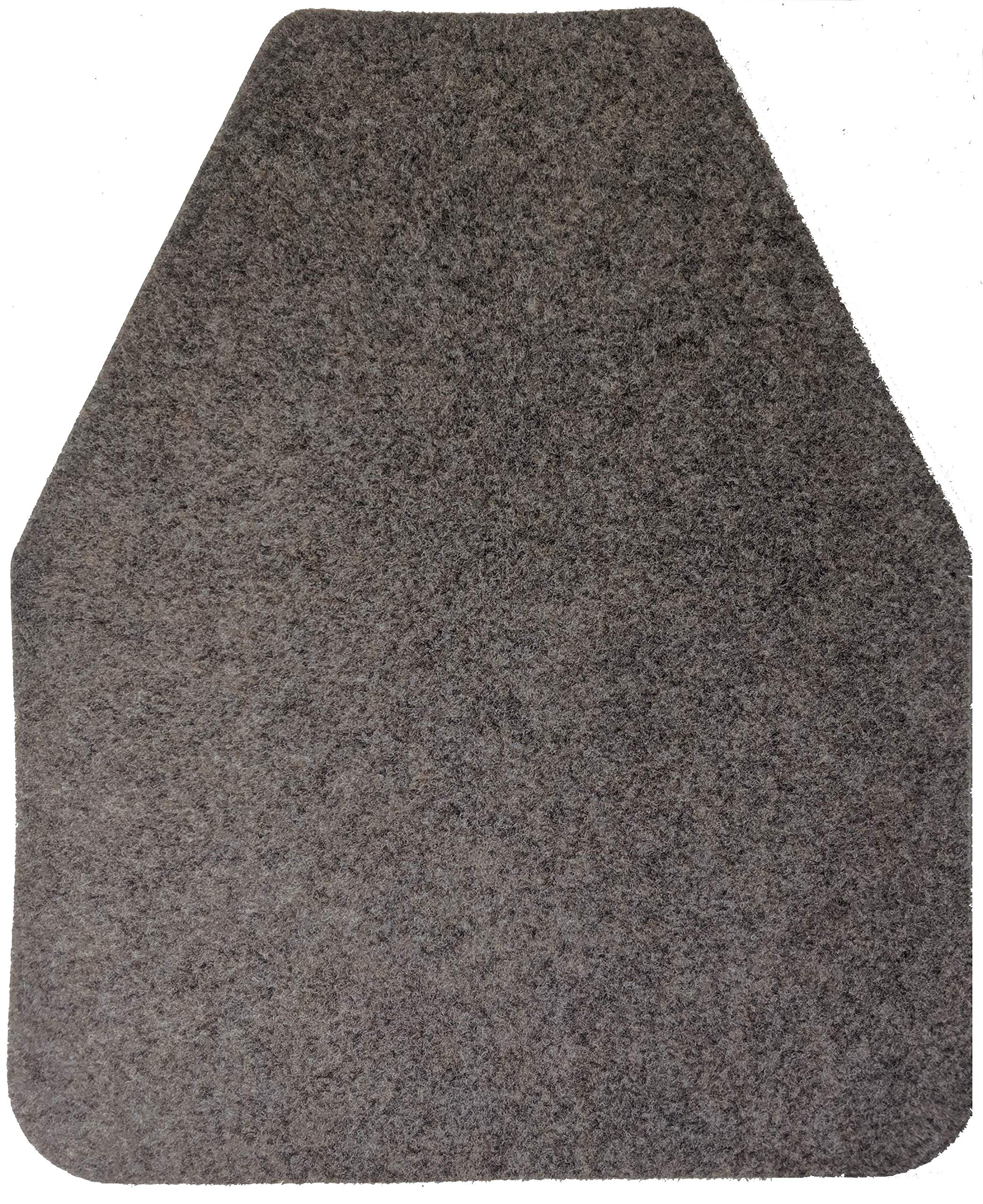 Direct Floor Mats Odor and Bacteria Eliminating Disposable Urinal Mats - Tan (Case of 12) by Direct Floor Mats