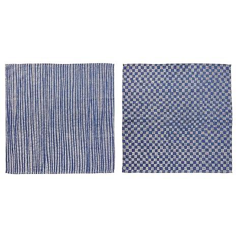 Ikea Industriell Juego de 2 paños de cocina 60x60 cm azules: Amazon.es: Hogar
