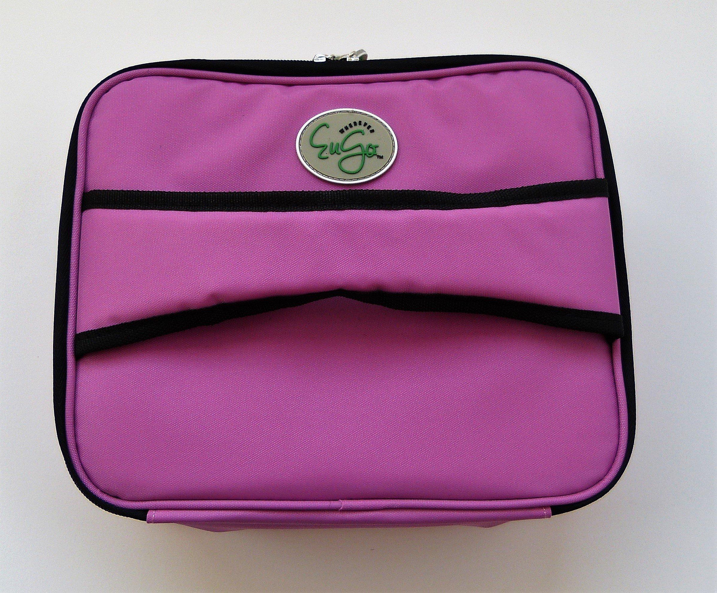 Diabetes Supplies Travel Bag and Organizer - Sport Pink