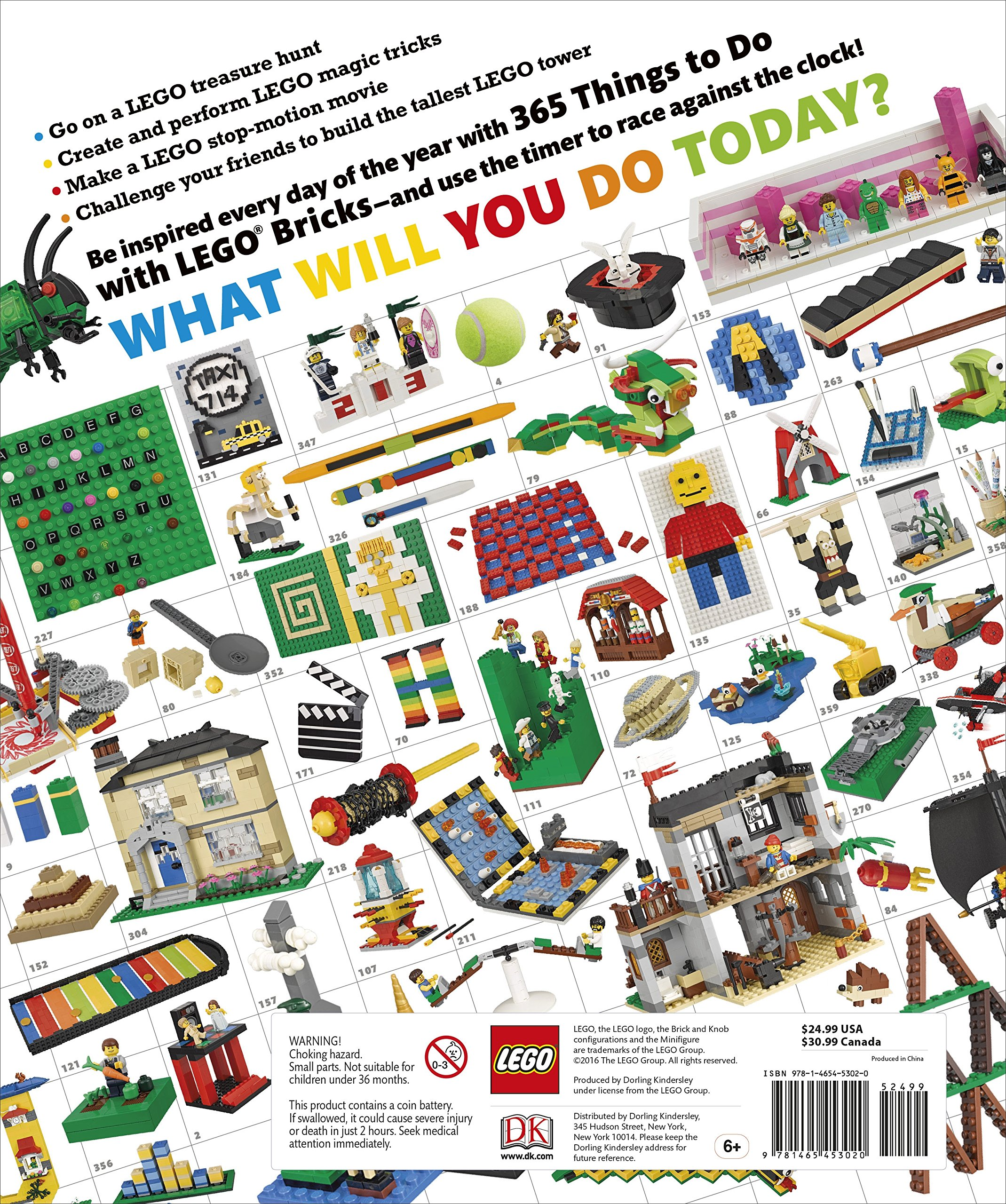 365 Things to Do with LEGO Bricks: Lego Fun Every Day of the Year by DK Publishing Dorling Kindersley (Image #1)