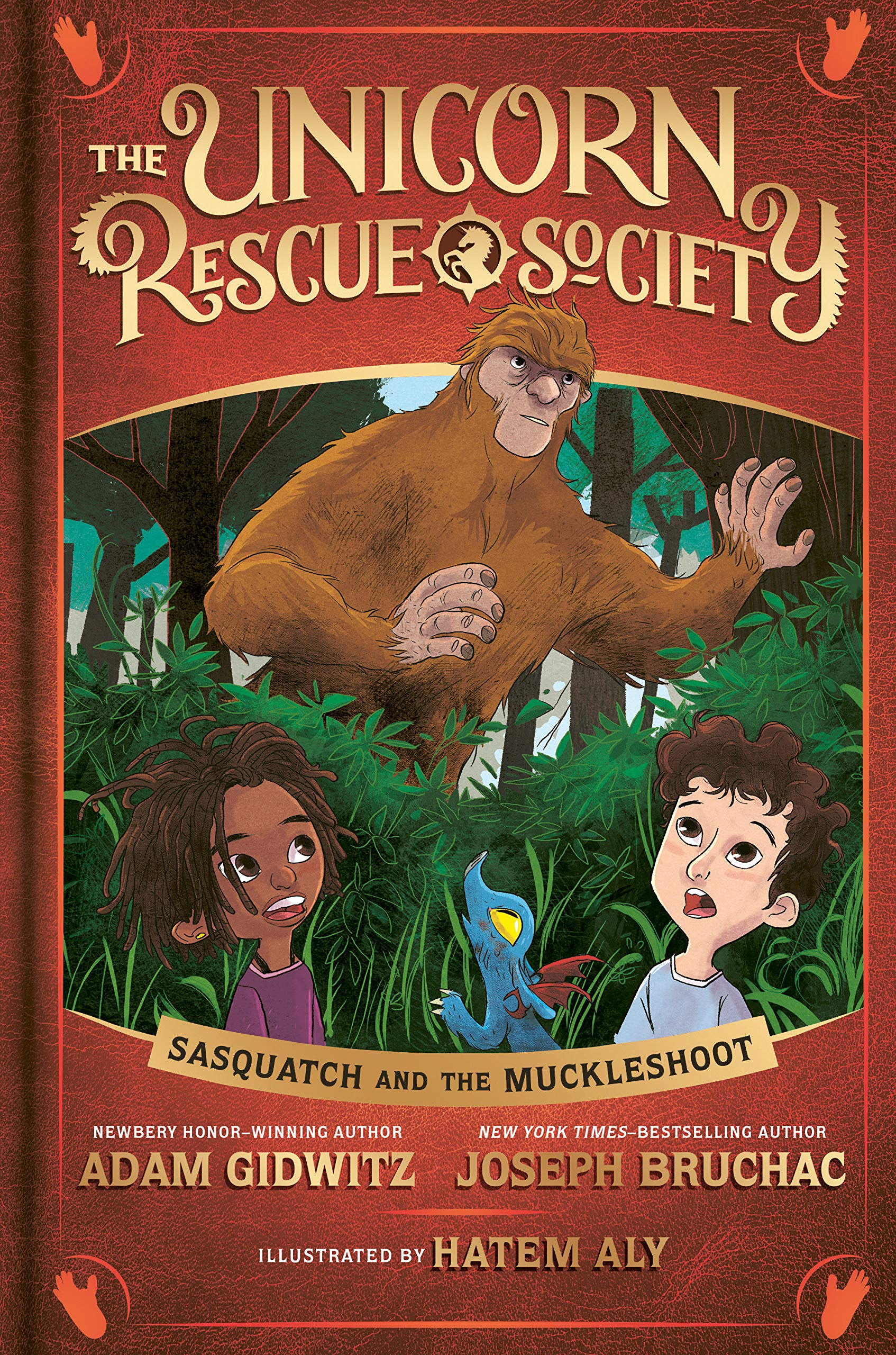 Sasquatch and the Muckleshoot (The Unicorn Rescue Society)