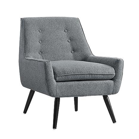 Amazon.com: Linón trelis Tufted Arm Chair: Kitchen & Dining