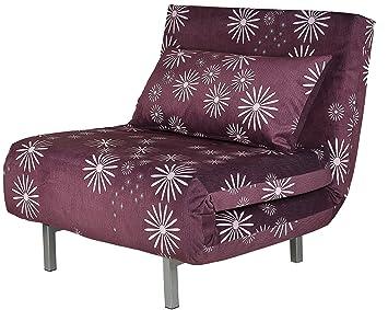 Groovy Cortesi Home Savion Convertible Accent Futon Purple Dailytribune Chair Design For Home Dailytribuneorg