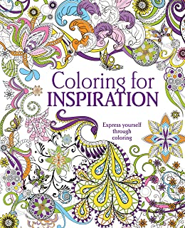 coloring for inspiration express yourself through coloring